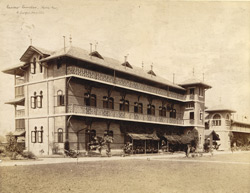 Nurses' Quarters (Rear View) St George's Hospital, [Bombay].